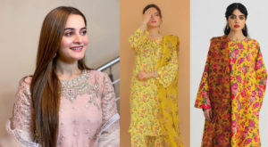 Recently Aiman and Minal Khan were accused of plagiarism over their new Eid collection