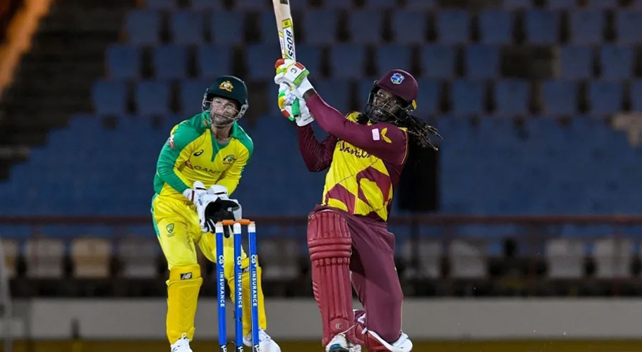 Chris Gayle smashed 67 off 38 balls as West Indies won the series. Source: ESPN Cricinfo